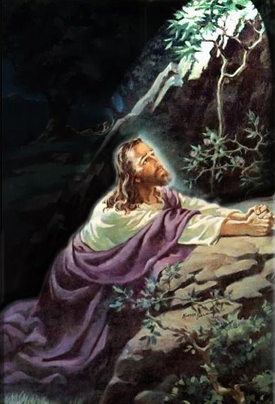 Paintings Of JesusJesus Praying In The Garden Of Gethsemane Painting